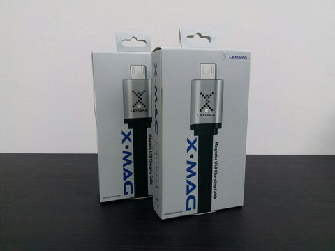 lexuma XMag magnetic USB Charging Cable Android Micro Lightning iPhone