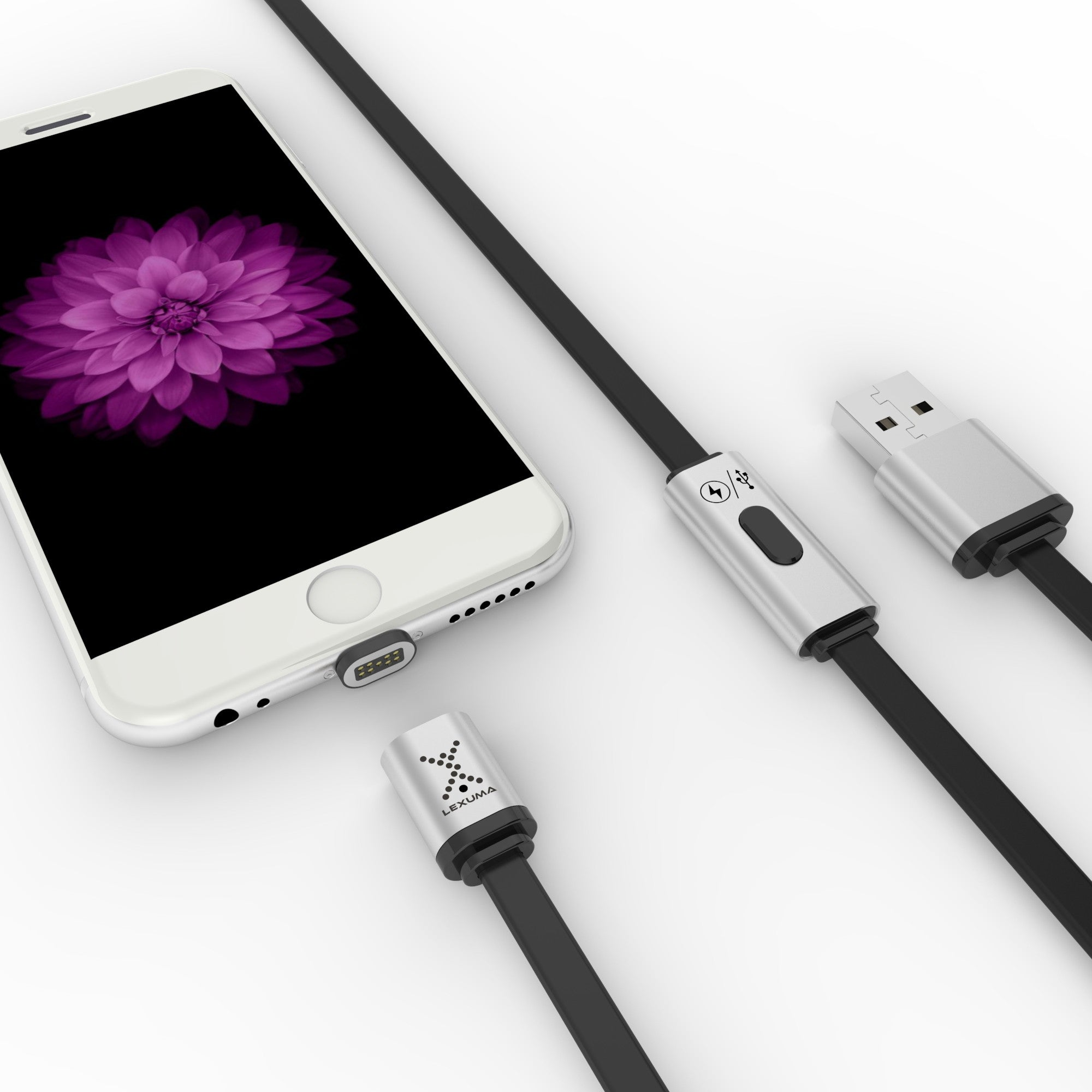 Lexuma XMag Magnetic Lightning Cable apple iOS