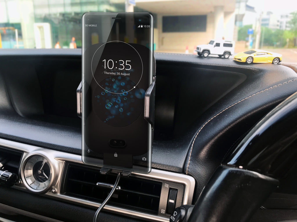 Lexuma 辣數碼 Xmount ACM-1009 Automatic Infrared Sensor Qi fast charging Wireless Car Charger Mount for iPhone samsung mobile phone accessories car smart holder wireless charger station adapter with infrared motion sensor safety driving Auto clamping Universal Car Mount Rotatable Bracket Air Vent Mount scosche stuckup iottie cd mount cigarette lighter wireless vent charger lynktec bolt besthing powr co GPS vertical