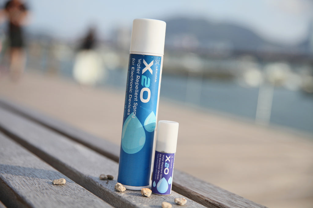 Lexuma X2O (10ml) - Waterproof / Water Repellent Spray for