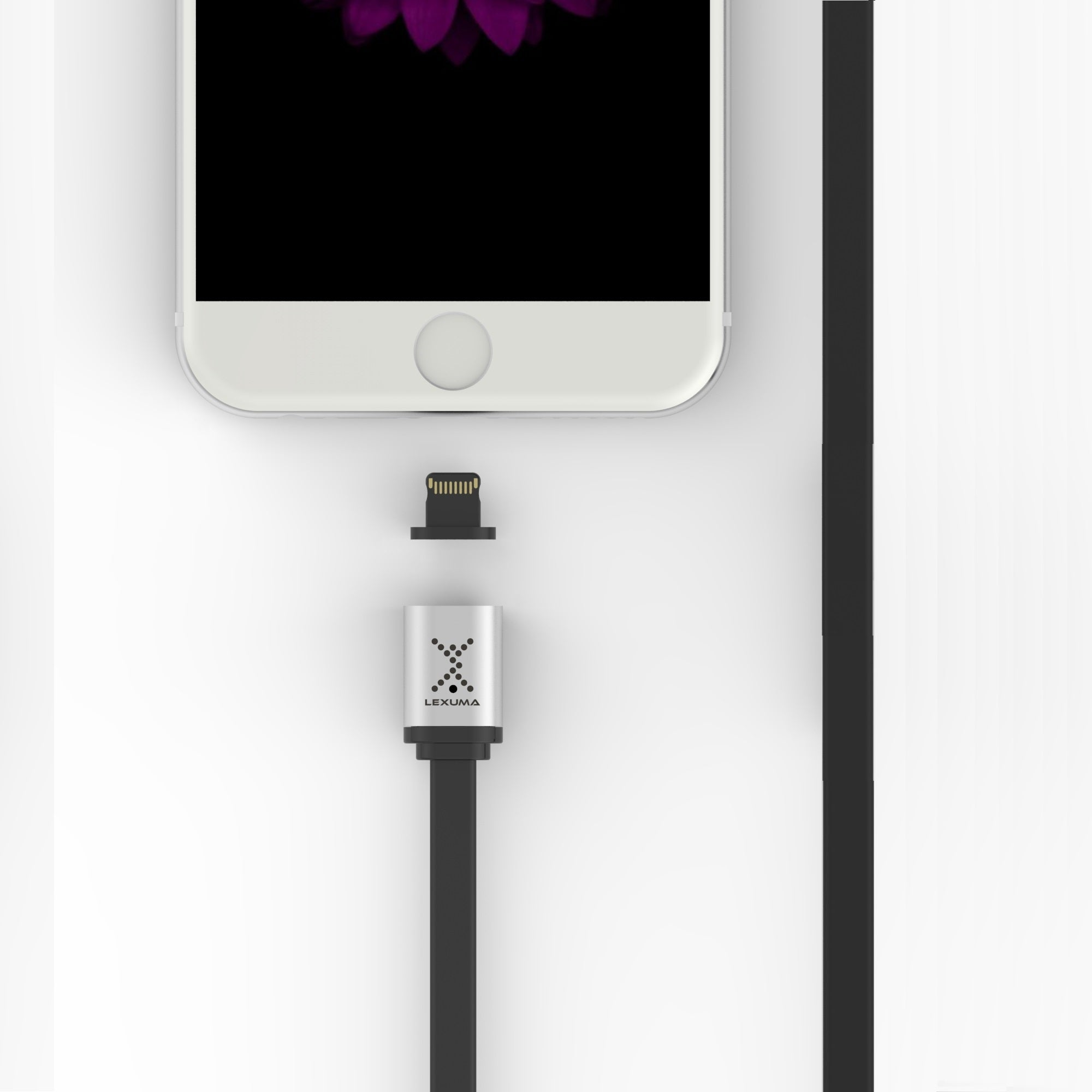 XMAG Magnetic Lightning Charging Cable for iPhone, iPad, iPod Touch (LITE)