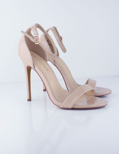AKOYA SANDALS- NUDE - Blue District