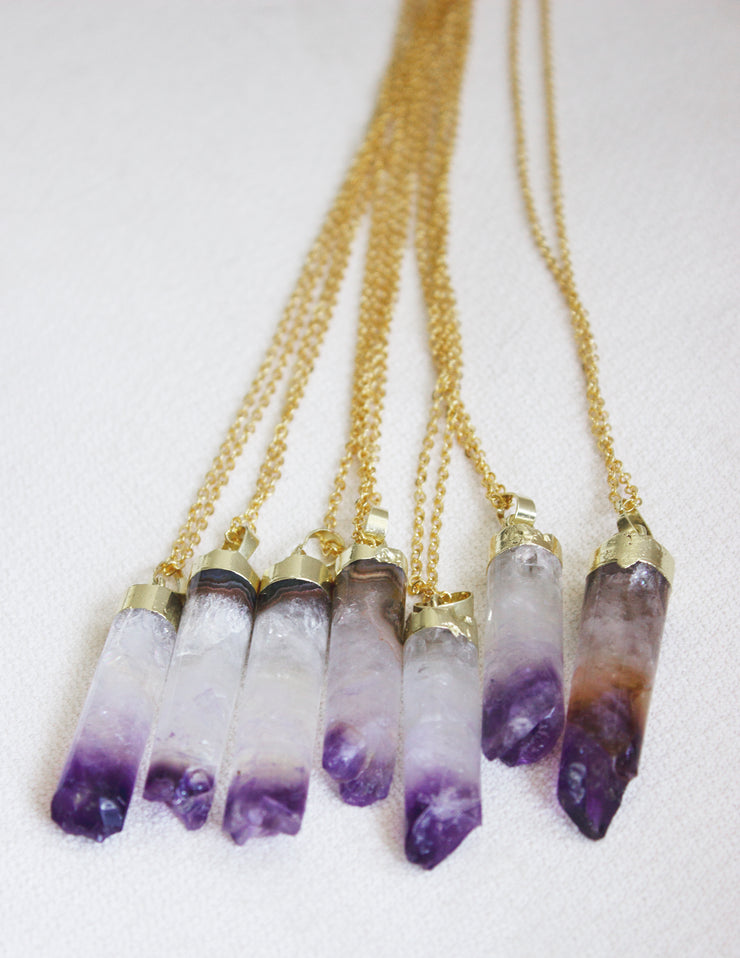 AMETHYST PENDANTS - Blue District