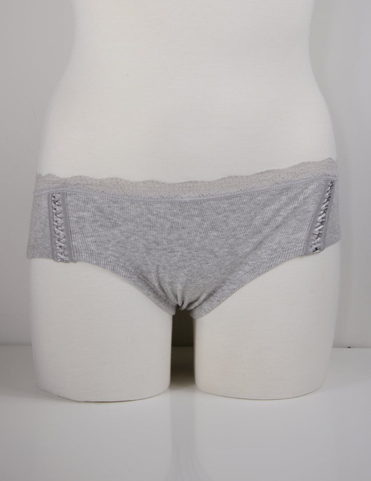 AMITY CHEEKY PANTY- PEBBLE