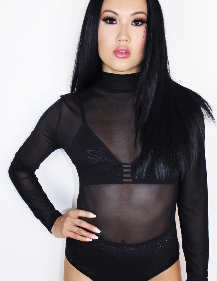BABYLON BODYSUIT- BLACK - Blue District