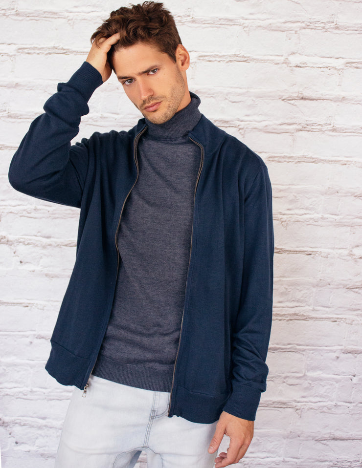 BIA CARDIGAN - NAVY