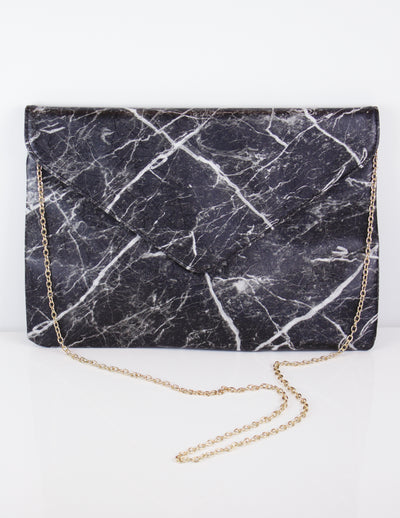 CANTATA OVERSIZED CLUTCH - Blue District