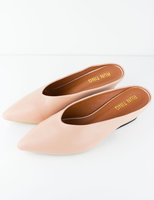 CAPE MULE- NUDE - Blue District
