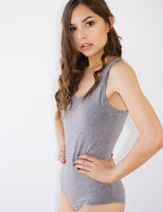 CARNELIA BODYSUIT- GRAY - Blue District