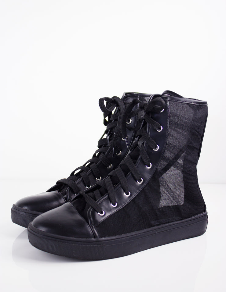 DOLLY SNEAKERS- BLACK - Blue District