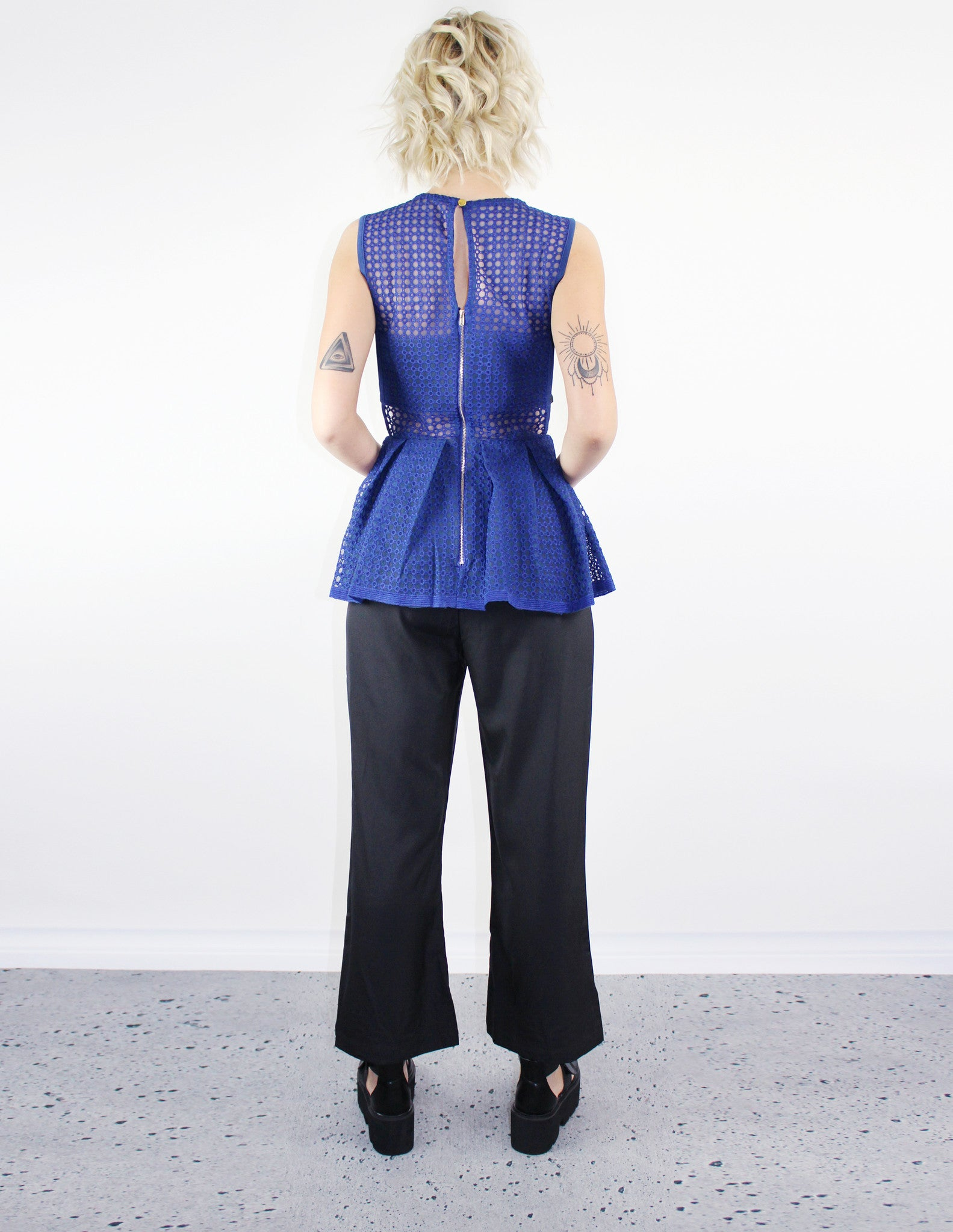 FREQUENCY JUMPSUIT - Blue District