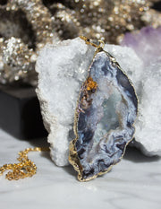SLICED GEODE- 0234 - Blue District