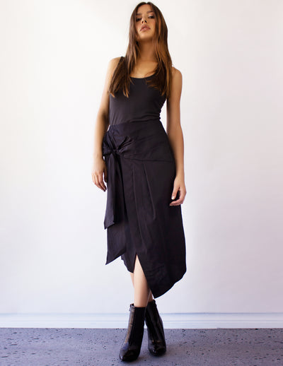 MAIA SKIRT- BLACK