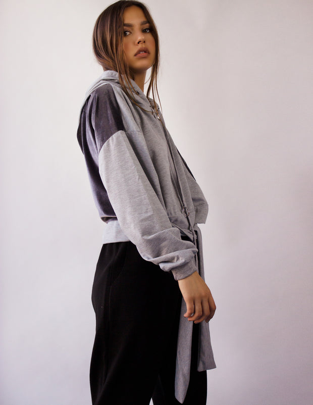 NESO SWEATER- GRAY