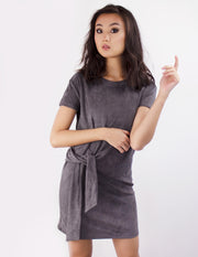 NYSSA DRESS- SLATE