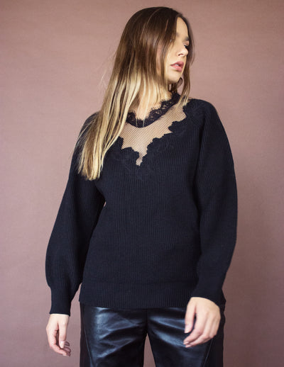 OSPREY SWEATER- ONYX