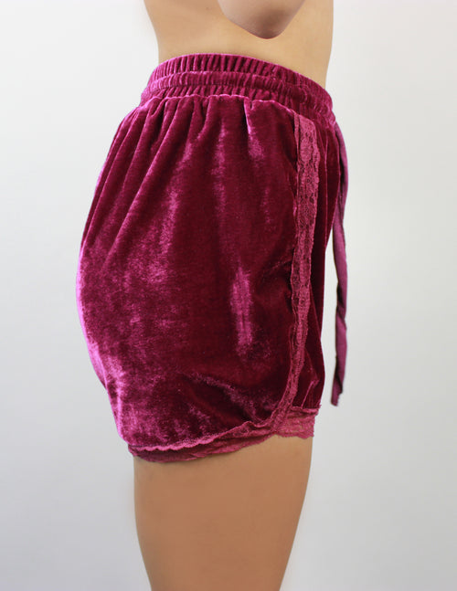 RASP SHORTS- PURPLE