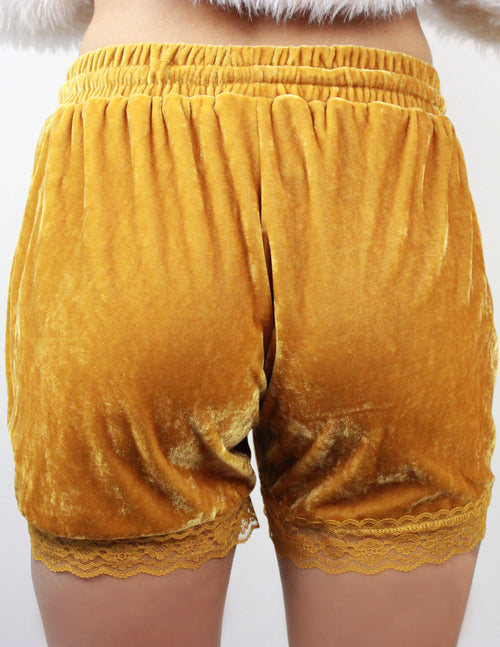 RASP SHORTS- YELLOW