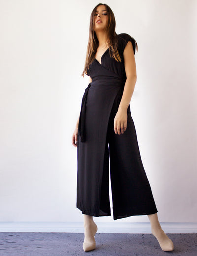 SAVITA JUMPSUIT- BLACK