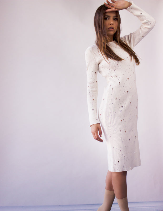 CYGNUS SWEATER DRESS