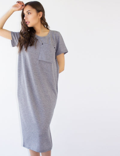 TECLA DRESS - Blue District