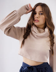 ACACIA CROPPED SWEATER