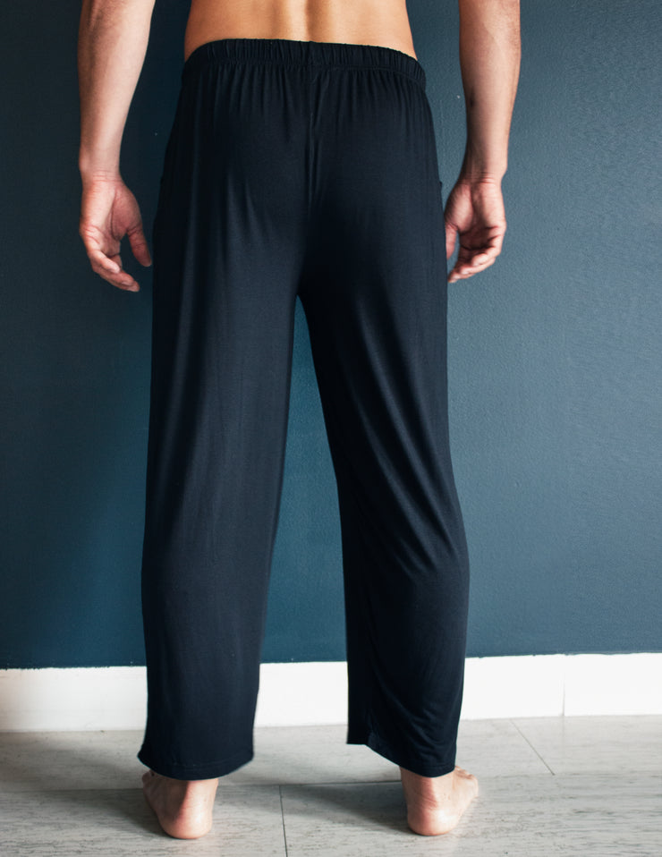 BAMBOO LOUNGE PANTS- ONYX