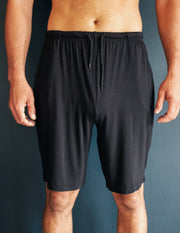 BAMBOO LOUNGE SHORTS- ONYX