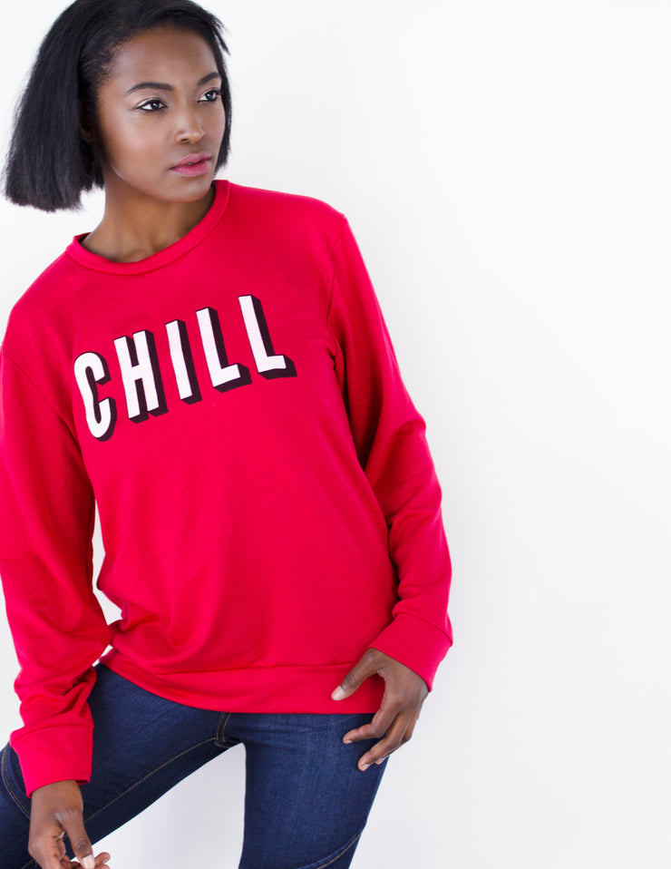 CHILL SWEATSHIRT - Blue District