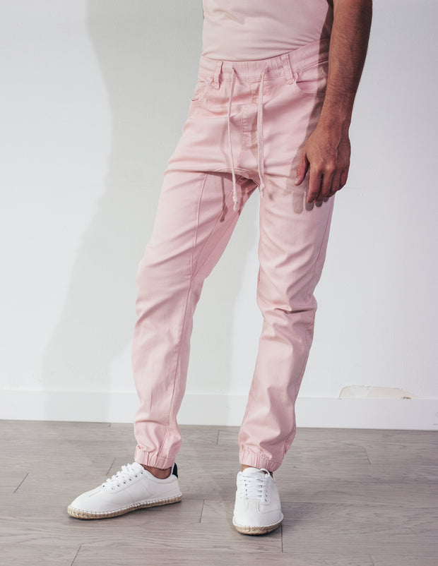 DEVOTED JOGGERS- ROSE
