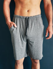 BAMBOO LOUNGE SHORTS- SMOKE