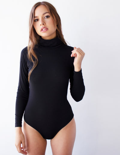 ICONIC BODYSUIT- BLACK - Blue District
