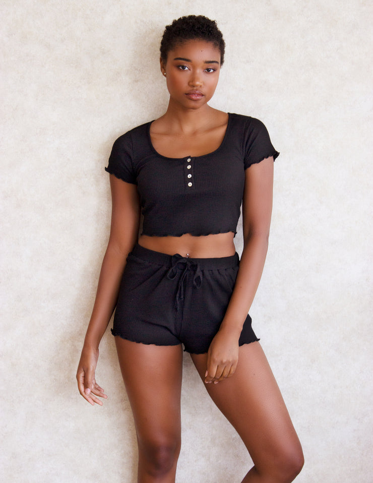 MADDER SHORTS SET- ONYX