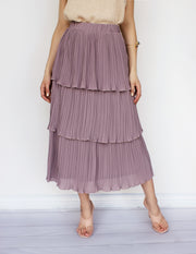 MINUTE SKIRT- LILAC