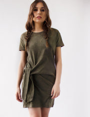 NYSSA DRESS- SAGE