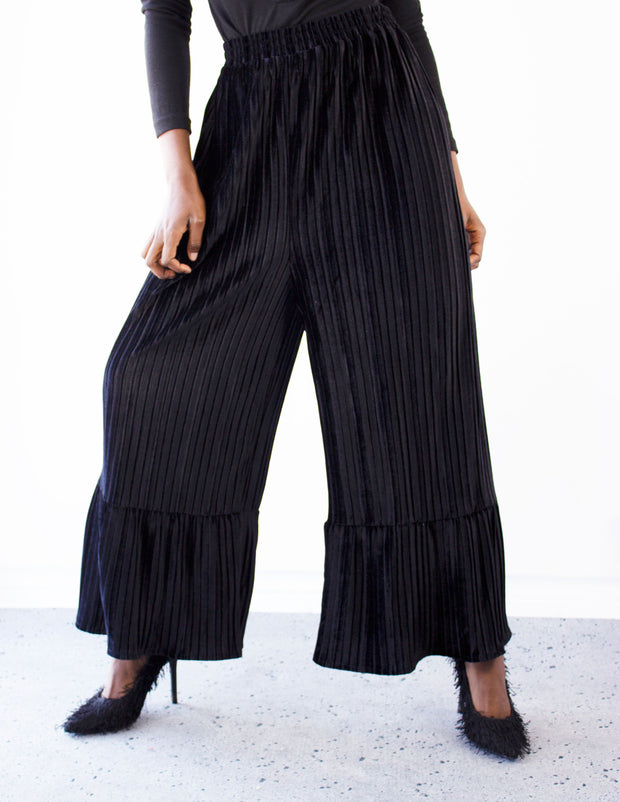 TUTTI PANTS- BLACK - Blue District