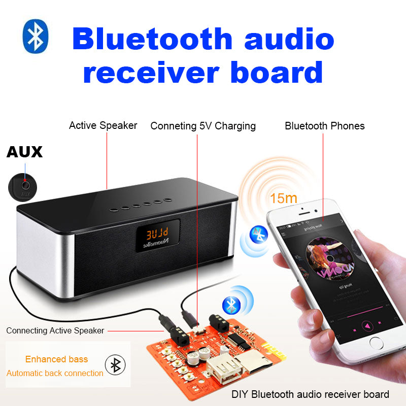 Mini Portable Active Hifi Speaker For Phone