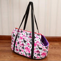 Print Shoulder Handbag Carrier for small dogs
