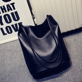 Black Bucket Shoulder Bags