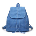 Denim Canvas Women Backpack