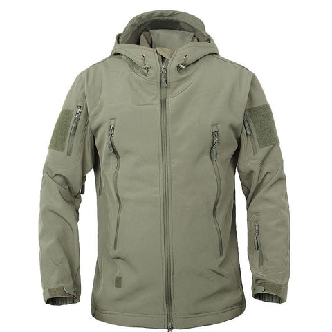 Waterproof Windbreaker Raincoat Clothes Army Jacket