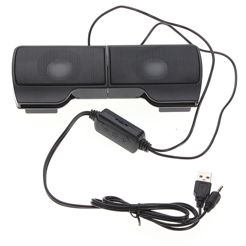 Mini Portable  USB Stereo Speakers