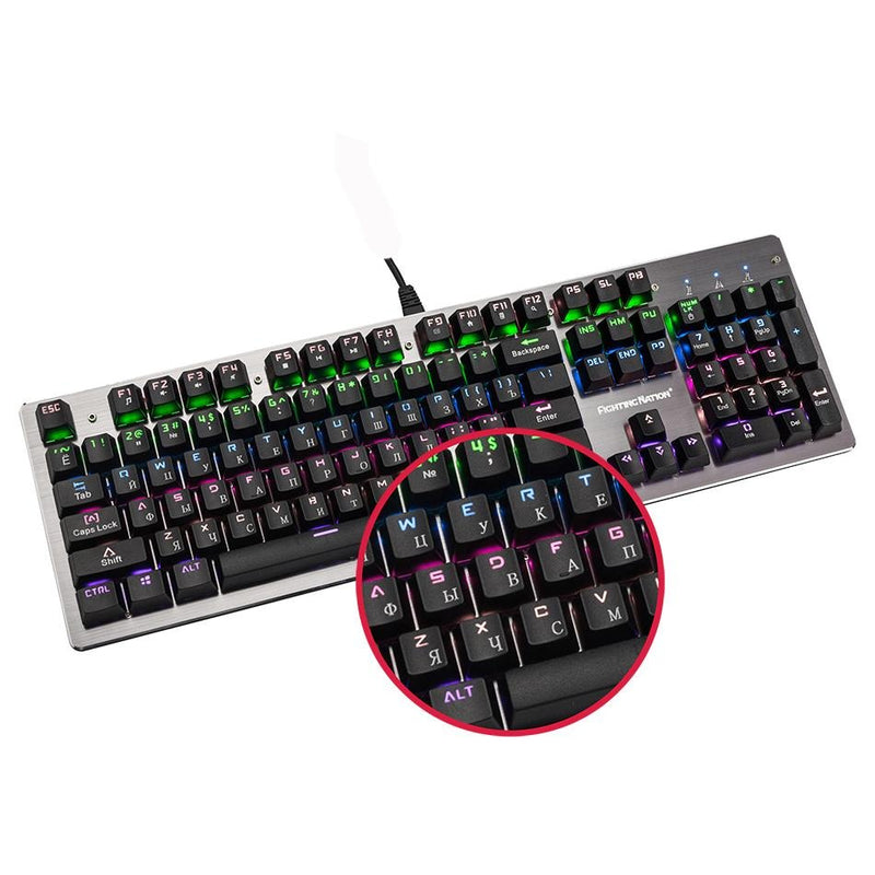 Illuminated Gaming Gamer Keyboard