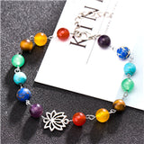 Guardian Star Natural Stone Beads Bracelet