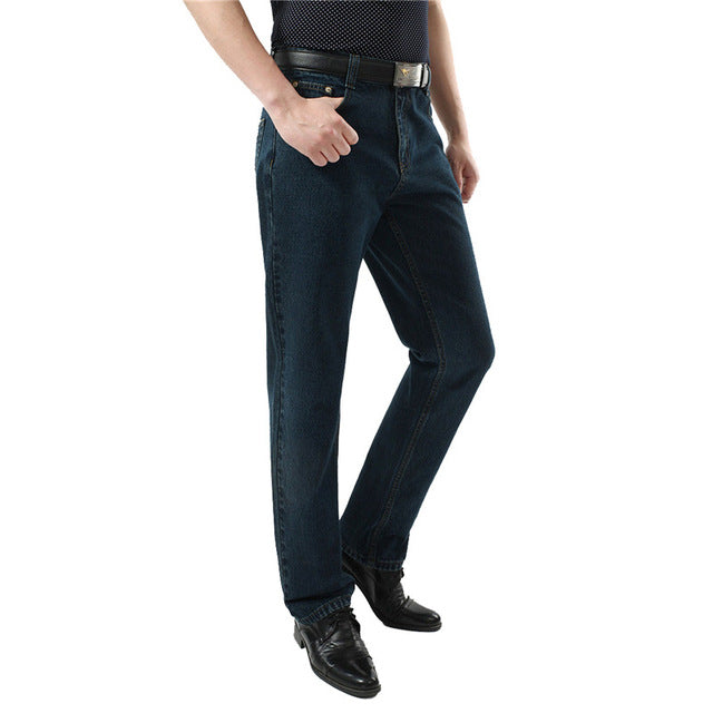 Casual Straight Denim Overalls for Men
