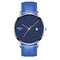 NIBOSI Blue Watch Men Watches Luxury Top Brand Mens Watch Relogio Masculino Navy Blue Military Army Analog Quartz Wrist Watches