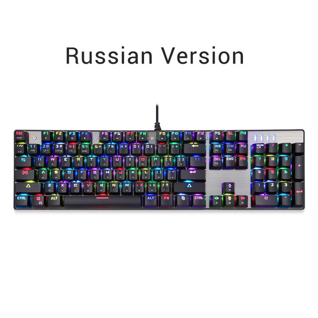 CK104 Russian Gaming Keyboard