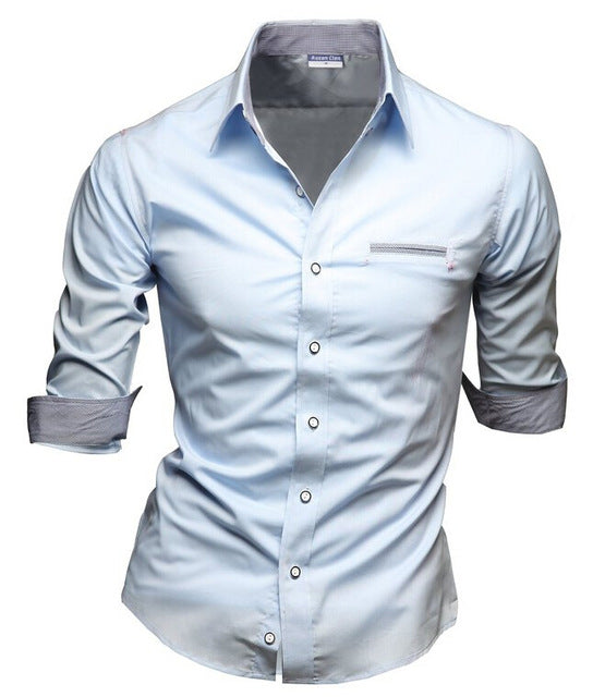 Casual Half Sleeved Chemise Shirt