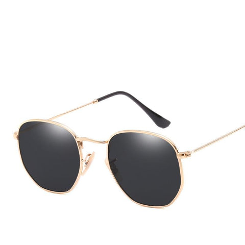 Mirror Flat Lens Sunglasses