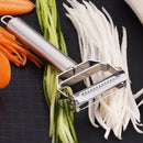Stainless Steel Julienne Peeler Metal Fruit Vegetable Tools Rotary Sharp Grater Potato Carrot Slicers Cutter Kitchen Gadgets